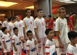 (У15): Победа над Киргистан за трето место во Шангај