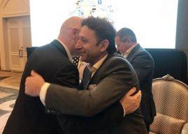 Чеферин и Инфантино му честитаа на Сејдини