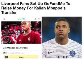 Навивачите на Ливерпул сакаат сами да го купат Килијан Мбапе
